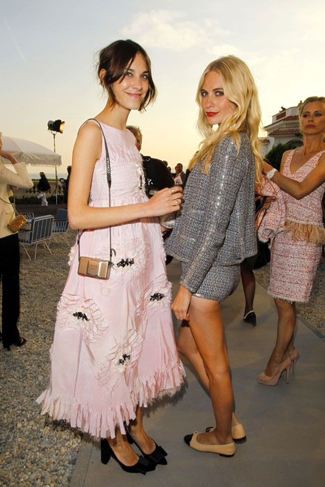 Celebrities Attend Chanel Collection Croisiere Show 2011