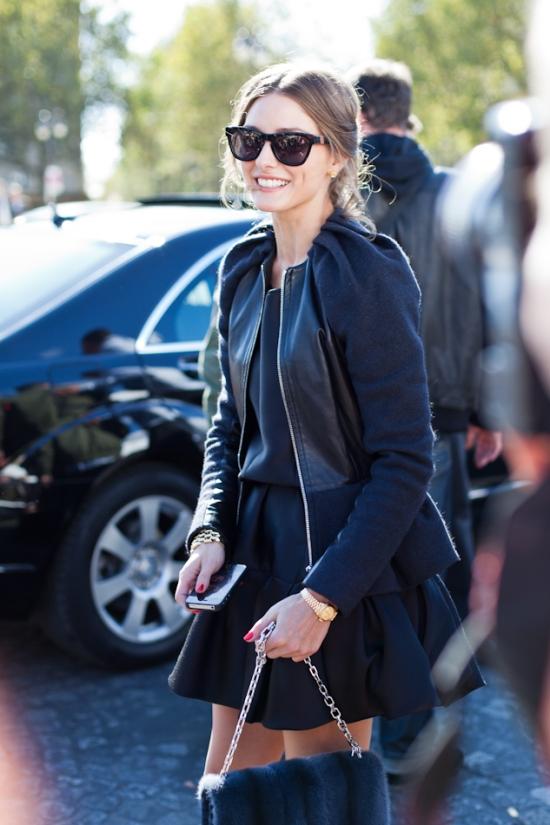 Paris Fashionweek 2012, Dior Show,, black and white