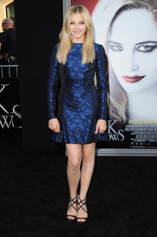 Chloe Grace Moretz at the Dark Shadows Premiere in Los Angeles May 7 2012